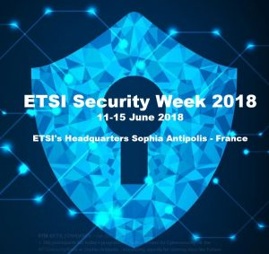 ETSI Security Week 2018